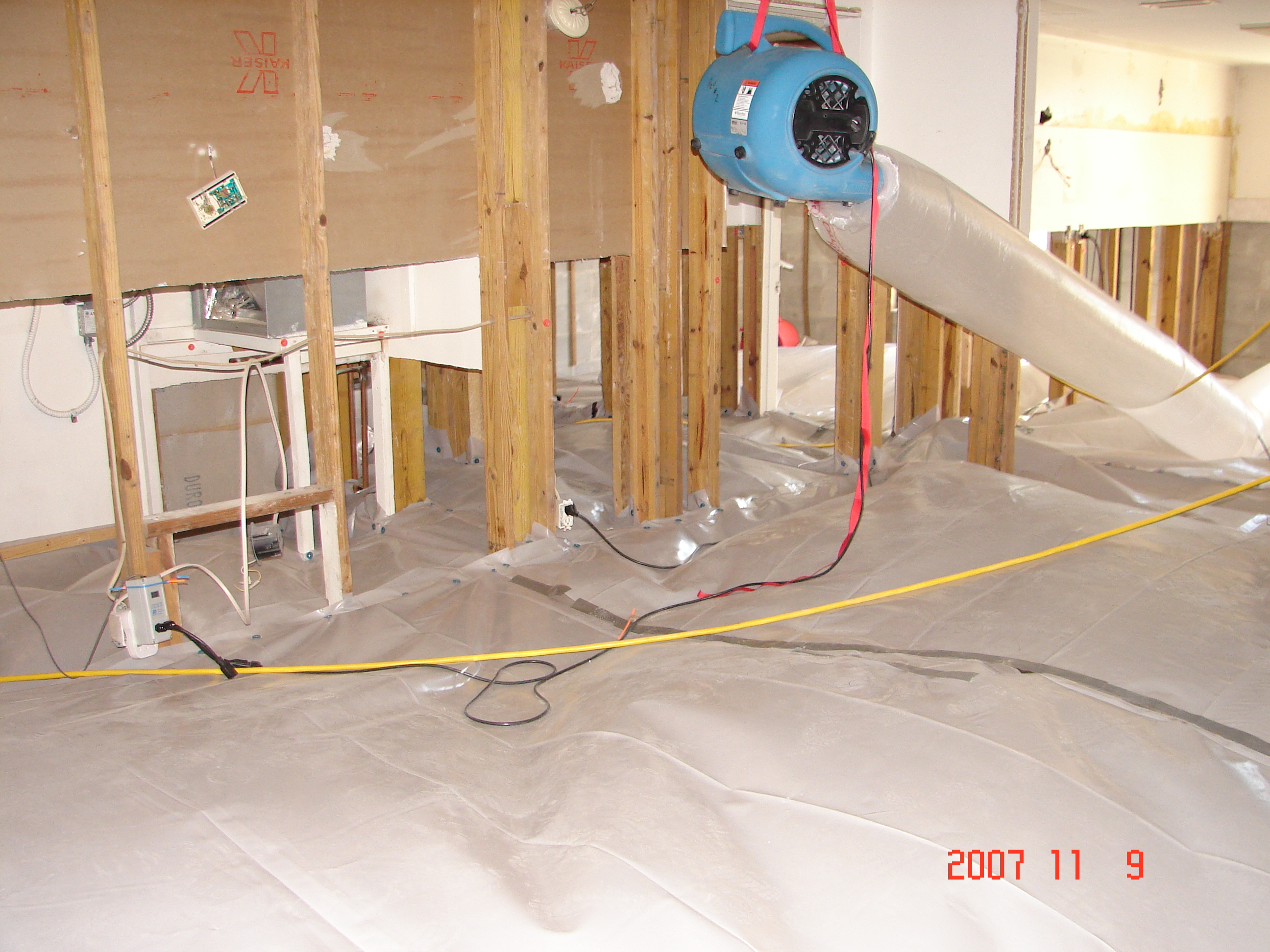 Dry Concrete Remove Water From Wet